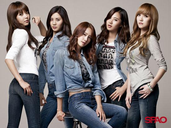 Girls Generation SNSD SPAO wallpaper