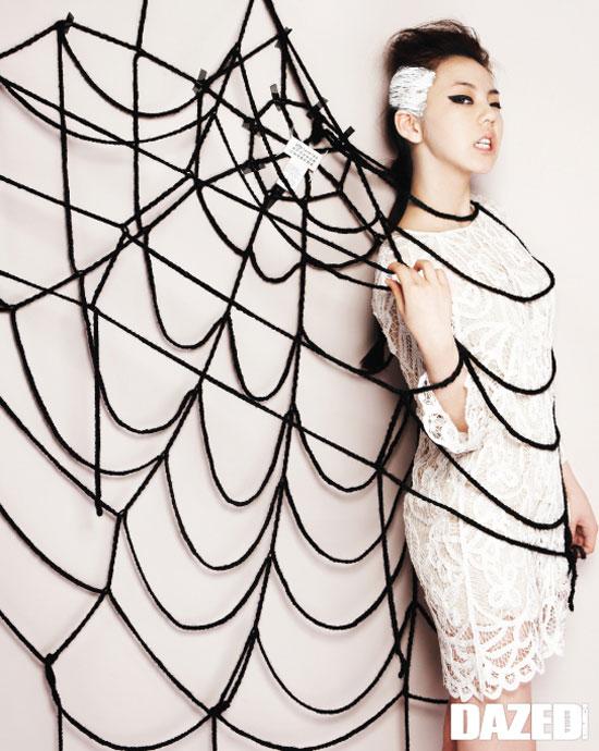 Sohee on Dazed & Confused magazine