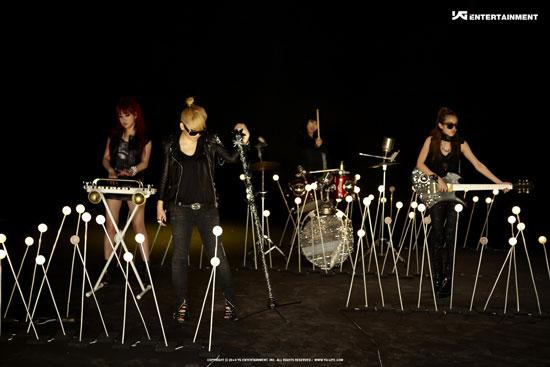 Korean pop group 2ne1 Go Away photo