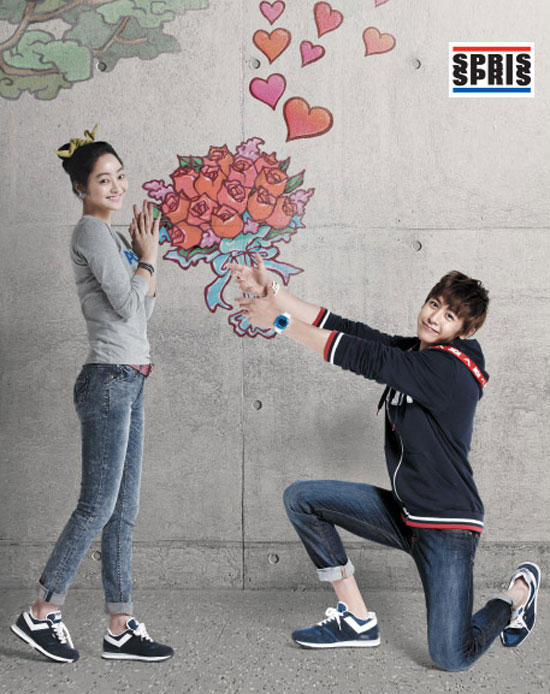 2pm Nichkun and Seo Hye-rim SPRIS fashion