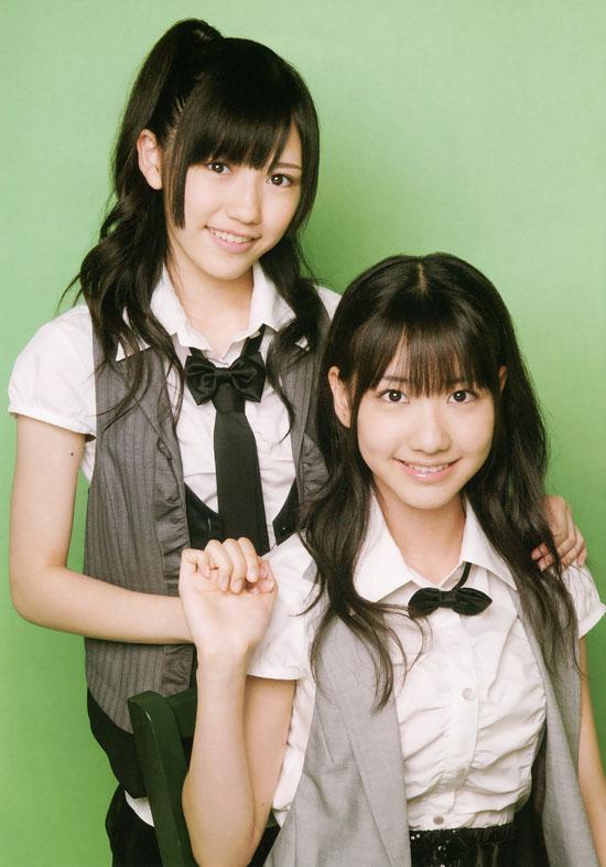 AKB48 Yuki Kashiwagi and Mayu Watanabe