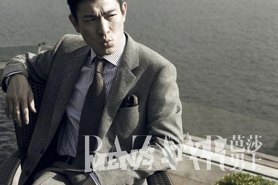 Andy Lau Harpers Bazaar Men Style Magazine
