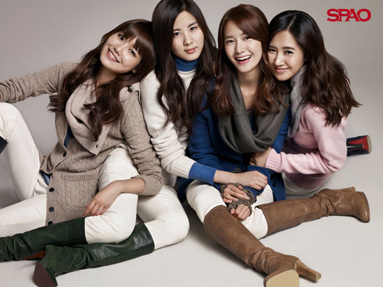Girls Generation SPAO Korean wallpaper [1024x768] [1280x1024]