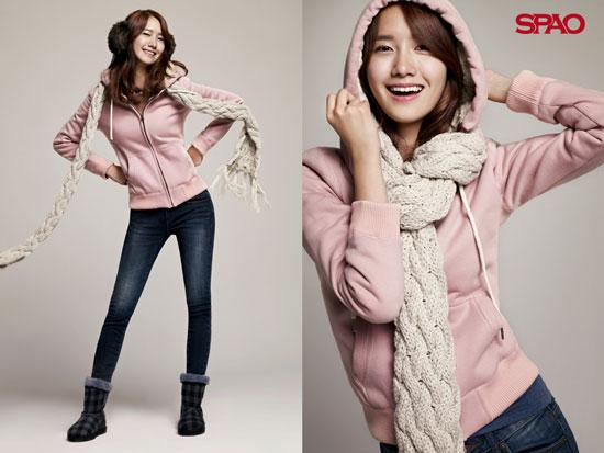 Girls Generation Yoona SPAO wallpaper