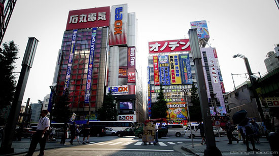 Akihabara Electric Town, Tokyo, Japan
