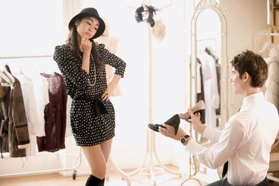 Kim Yu-na QUA fashion