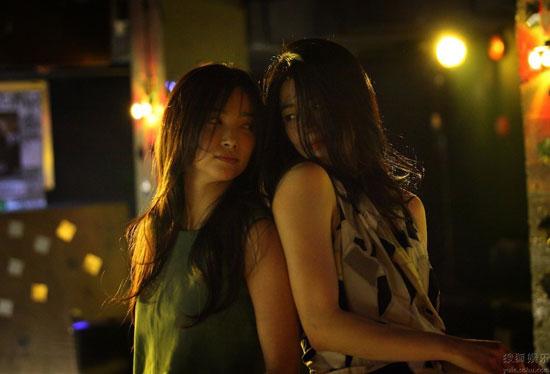 Li Bingbing and Jun Ji-hyun in Snow Flower and the Secret Fan
