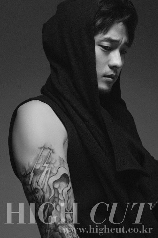 Korean actor So Ji-sub on High Cut magazine