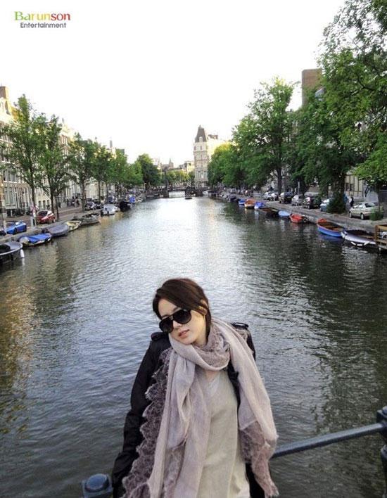Son Ye-jin in Amsterdam, Netherlands