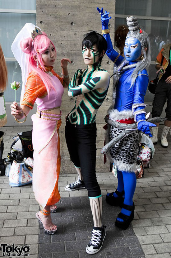 Cosplay at Tokyo Game show 2010