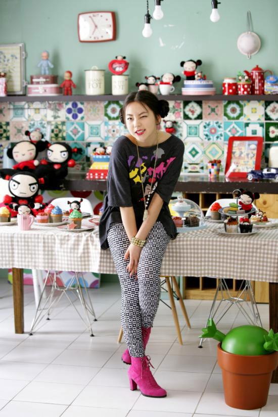Wonder Girls Yeeun loves Pucca