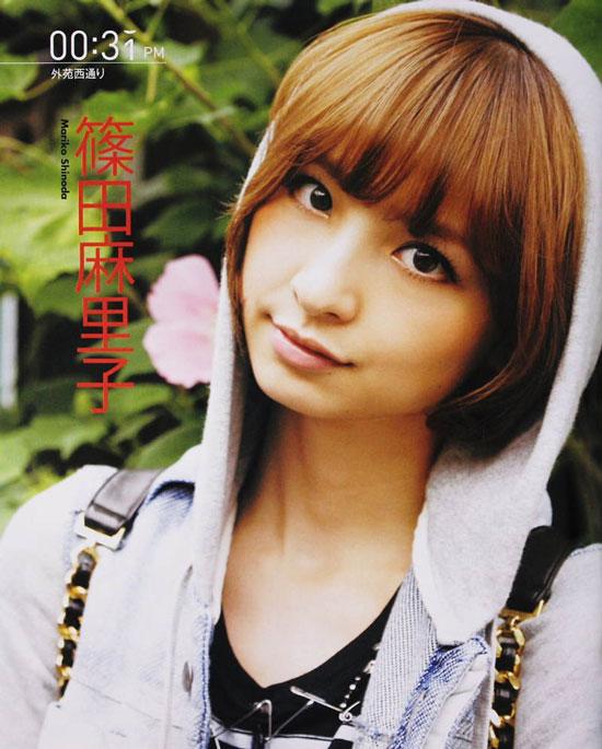 AKB48 Mariko Shinoda Bomb magazine