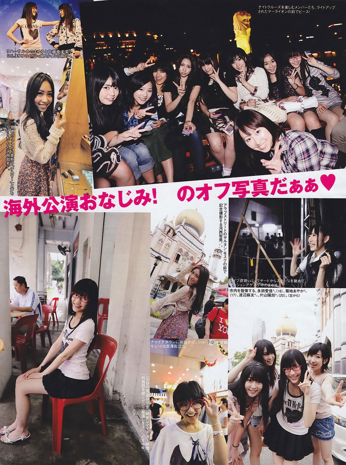 AKB48 in Singapore trip