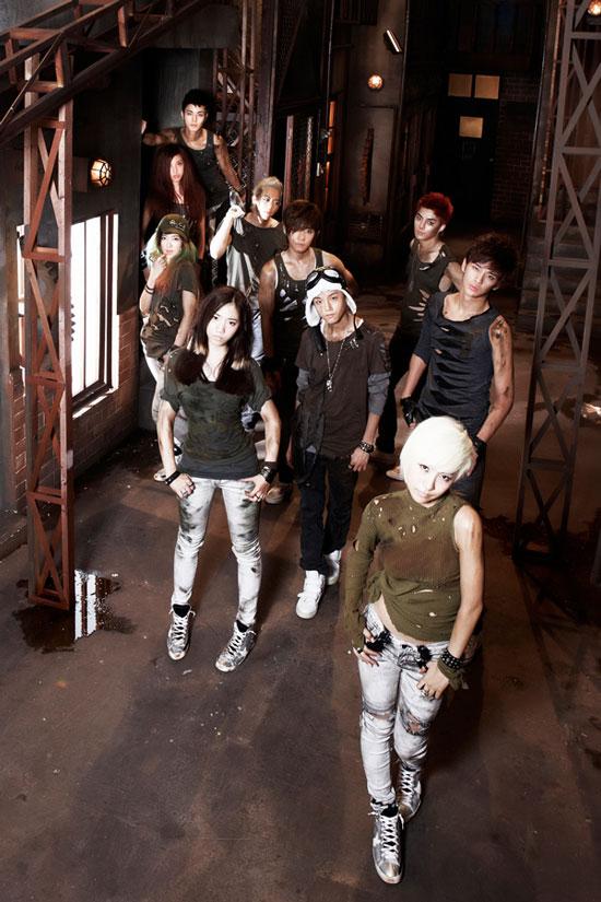 Korean pop group Co-Ed