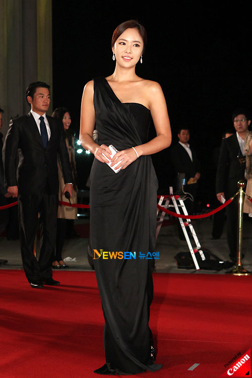 Hwang Jung-eum at Daejong Film Awards 2010