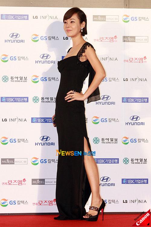 Kim Yun-jin at Daejong Film Awards 2010