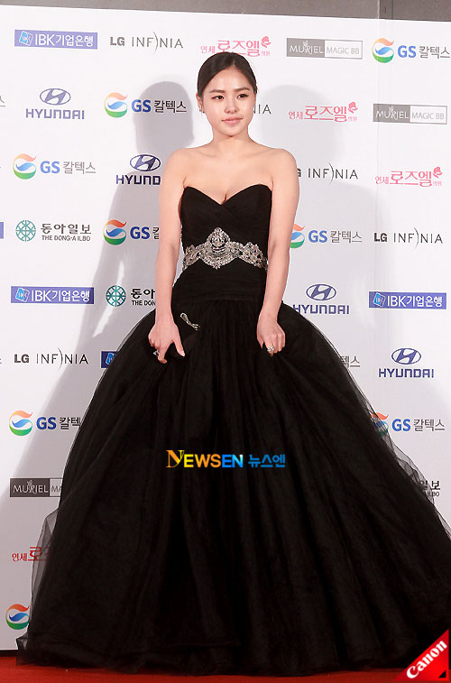 Min Hyo-rin at Daejong Film Awards 2010