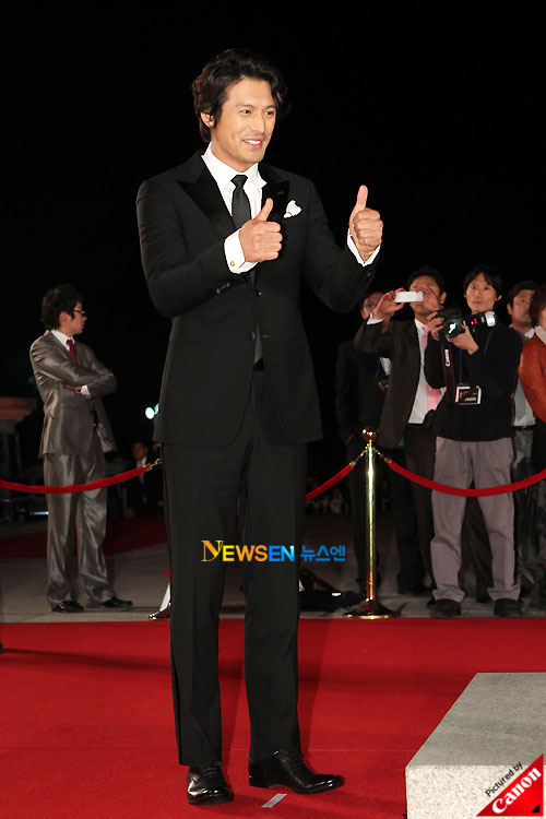 Oh Ji-ho at Daejong Film Awards 2010