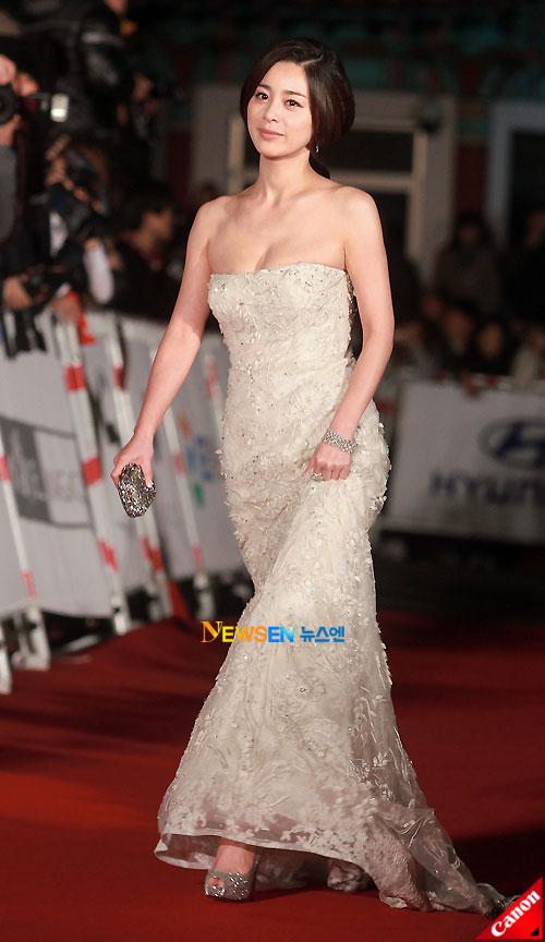 Seo Young-hee at Daejong Film Awards 2010