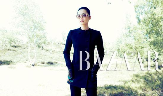 Faye Wong on Harpers Bazaar magazine