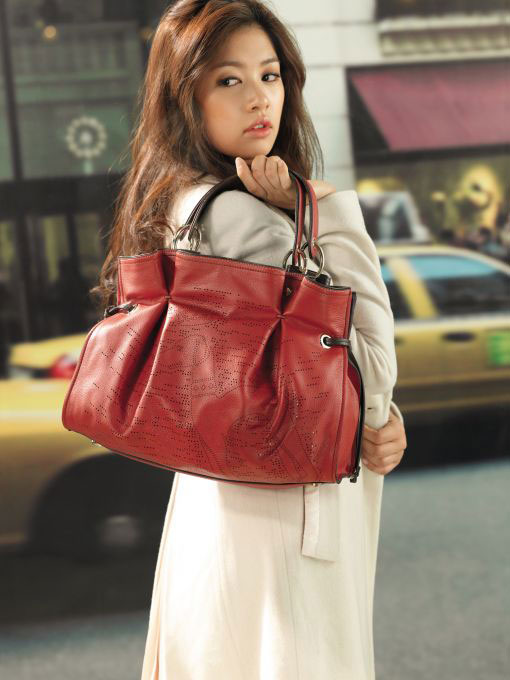 Jung So-min for Hazzys bags