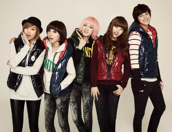 Miss A and Kim Bum for Edwin