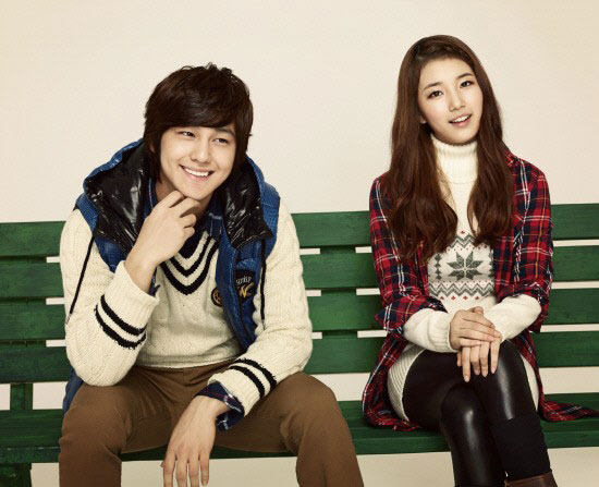 Miss A Suzy and Kim Bum for Edwin