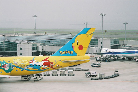 All Nippon Airways Pokemon Jet