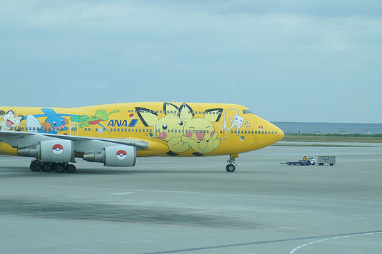 Japan ANA Pokemon Jet