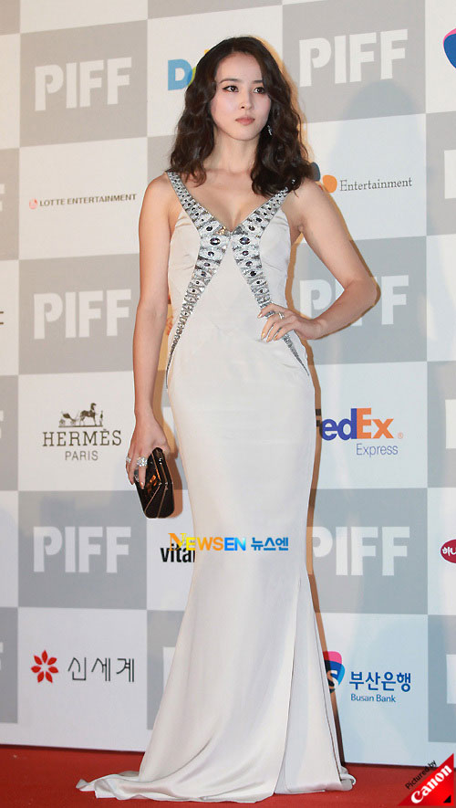 Han Hye-jin at Pusan International Film Festival 2010
