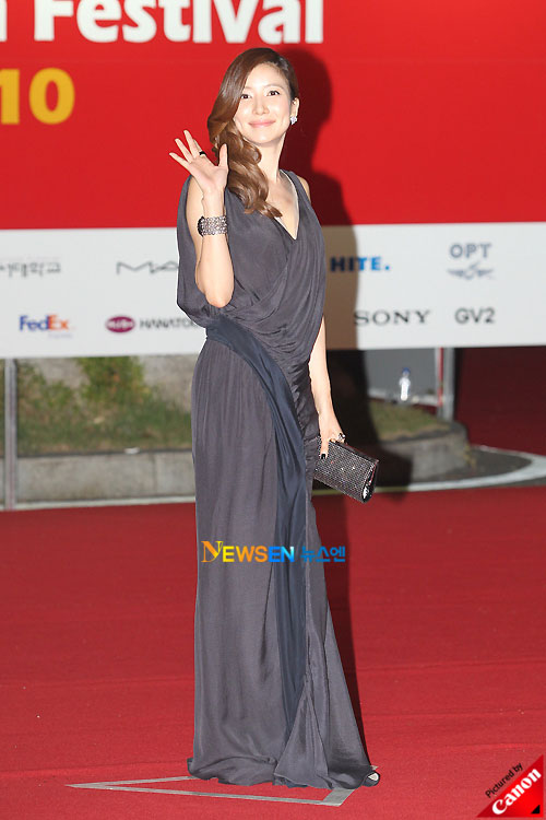 Cha Ye-ryun at Pusan International Film Festival 2010