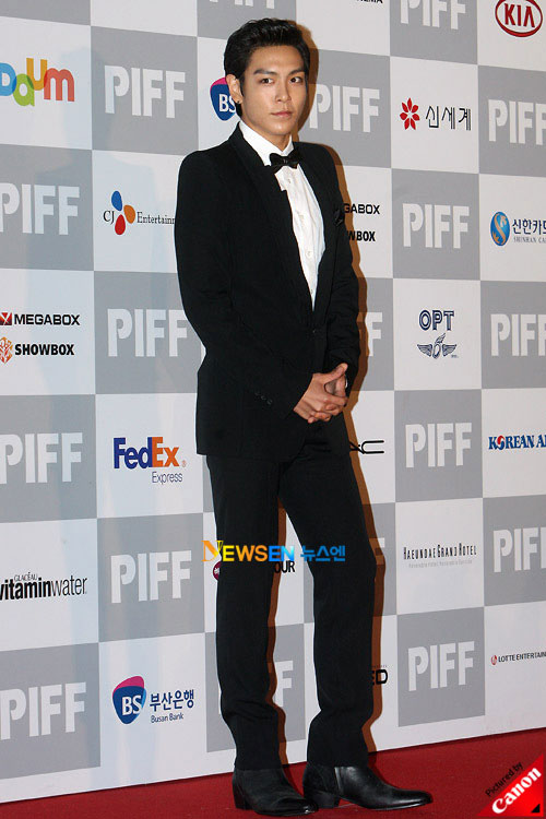 T.O.P at Pusan International Film Festival 2010