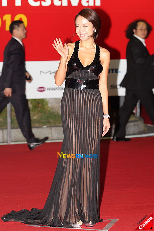 Jeon Do-yeon at Pusan International Film Festival 2010