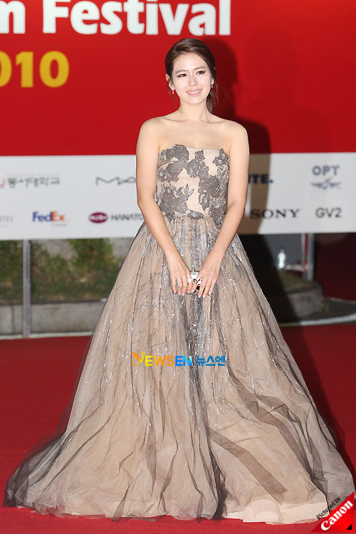 Son Ye-jin at Pusan International Film Festival 2010