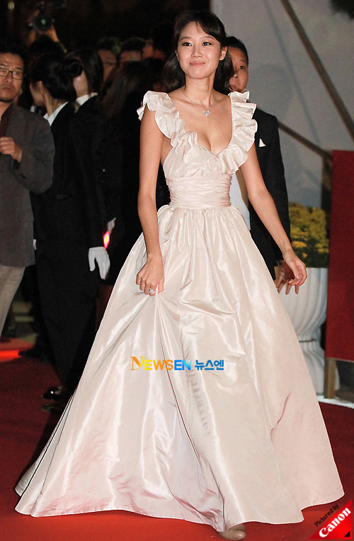 Kong Hyo-jin at Pusan International Film Festival 2010