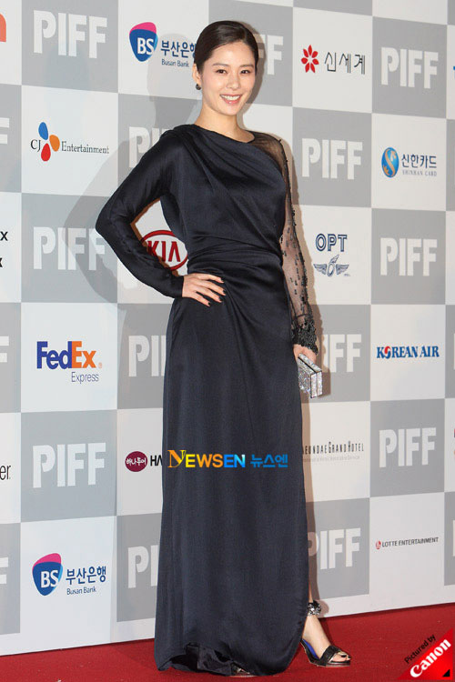 Kim Hyun-joo at Pusan International Film Festival 2010