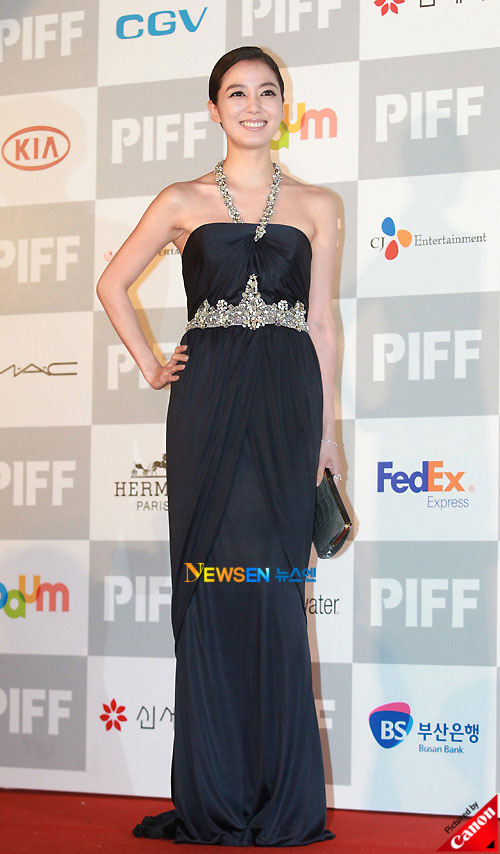 Lee So-yeon at Pusan International Film Festival 2010