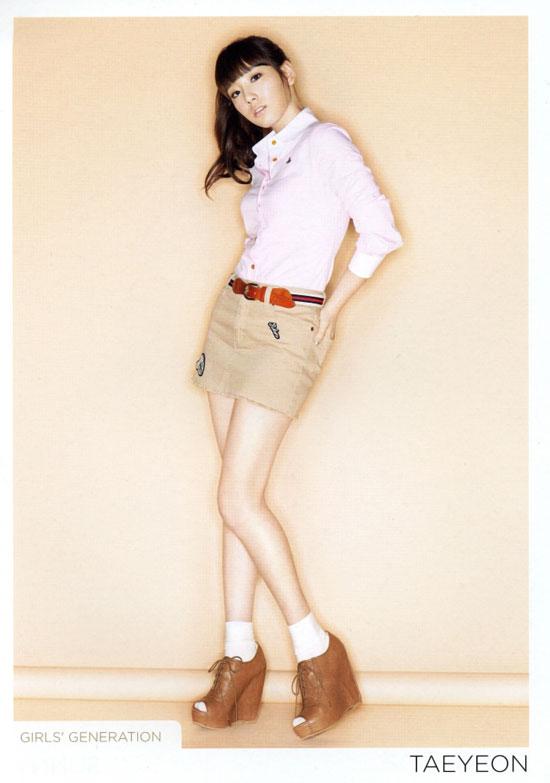 SNSD Taeyeon Japanese Gee
