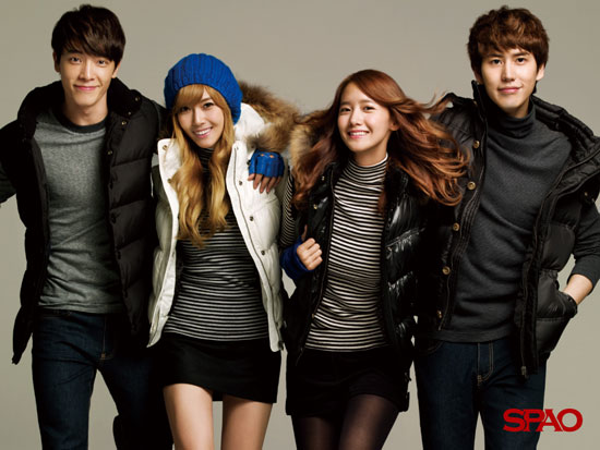 Super Junior and Girls Generation SPAO wallpaper