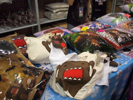 Merchandises at Anime Festival Asia 2010