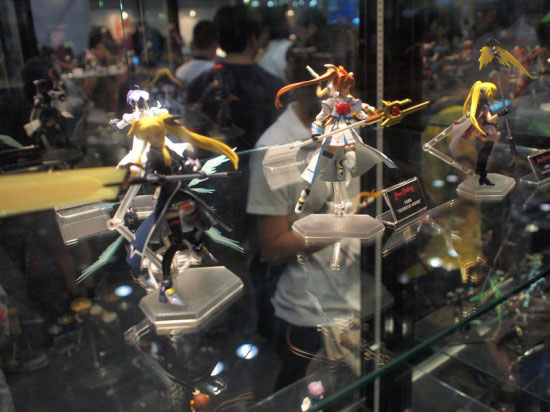 Figurines at Anime Festival Asia 2010