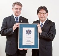 AKB48 producer Yasushi Akimoto Guinness Record