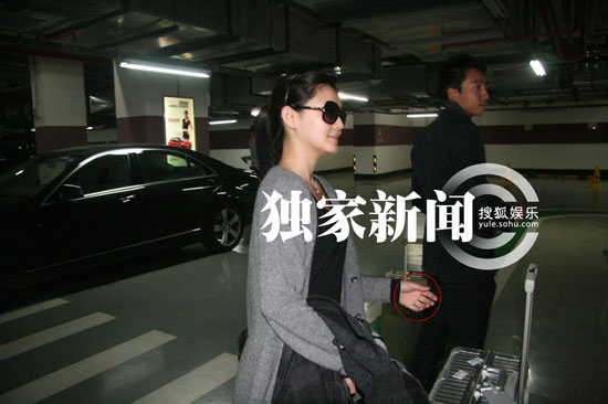 Barbie Hsu and husband Wang Xiaofei