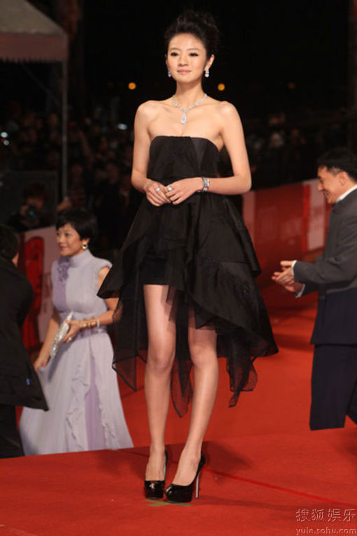 Ady An at Golden Horse Awards 2010 red carpet
