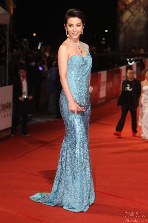 Li Bingbing at Golden Horse Awards 2010 red carpet