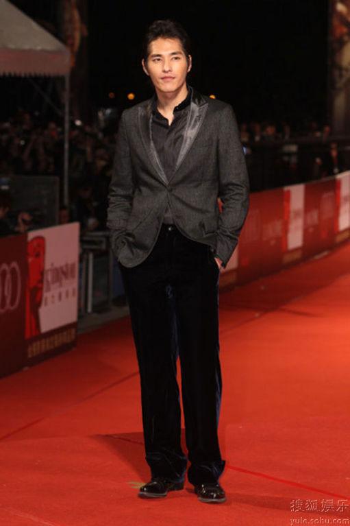 Blue Lan at Golden Horse Awards 2010 red carpet