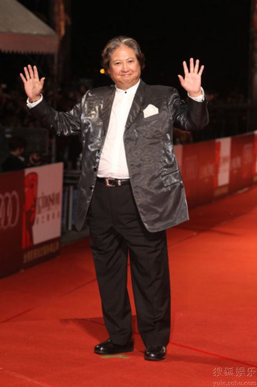 Sammo Hung at Golden Horse Awards 2010 red carpet