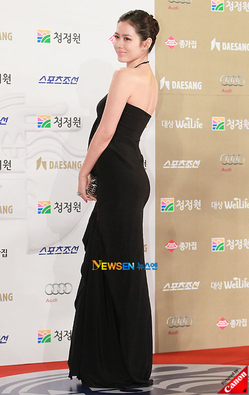 Son Ye-jin at Blue Dragon Awards 2010