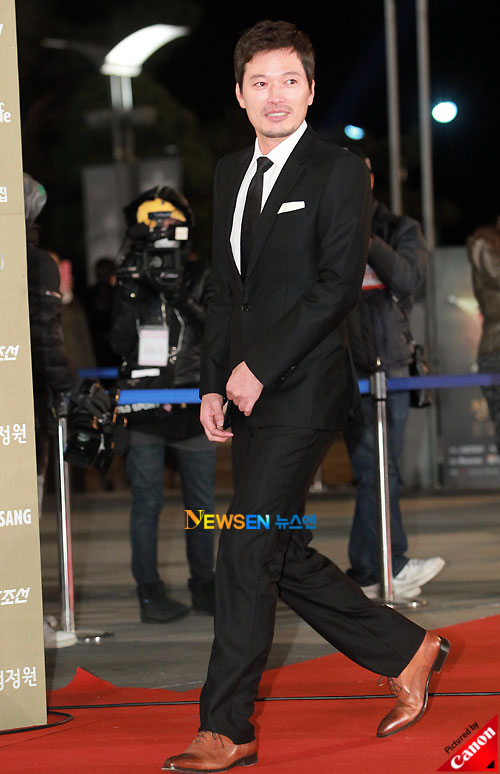 Jung Jae-young at Blue Dragon Awards 2010