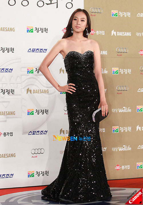 Jo Yoon-hee at Blue Dragon Awards 2010